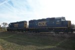 CSX train moving into Miller Brewery